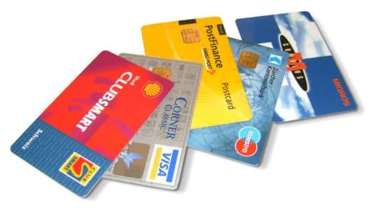 Kreditkarten=Schuldenfalle