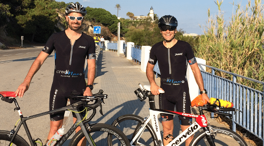 CrediMaxx Racing Teams beim Ironman Barcelona
